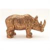 Ceramic Bronze Rhino, Bronze