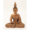 Inspiring Ceramic Copper Sitting Buddha, Copper