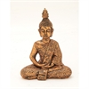 Stunning Ceramic Copper Sitting Buddha, Copper