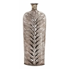 Benzara Customary Styled Fancy Metal Vase