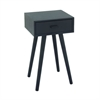 "Wood Accent Table 16""W, 28""H, Grey"