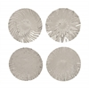 "Stainless Steel Wall Platter 4 Assorted 21""D"