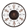 Benzara Metal Wall Plaque With Eye Catching Decor Appeal