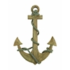 Benzara Wood Anchor Sensible Nautical Decor