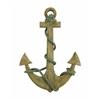 Benzara Wood Anchor Sensible Nautical Decor