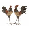 Benzara Classy Styled Decorative Metal Rooster