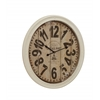 Benzara Buckingham Contemporary Styled Metal Wall Clock