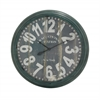 Benzara Charismatic And Antique Styled Metal Wall Clock