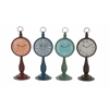 Benzara Stunning And Unique Metal Table Clock 4 Assorted