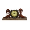 Benzara Boot Clock In Copper And Antique Shades With Unique Design