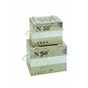 Useful & Spacious Wooden Box With Sturdy Construction (Set Of 2)