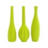 Benzara Attractive Styled Yangtze Ceramic Vase 3 Assorted