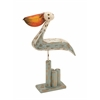 Benzara Classy Styled Wood Metal Pelican