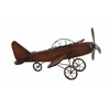 Benzara Fascinating Styled Wood Metal Airplane
