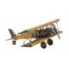 Benzara Contemporary Styled Classy Metal Airplane