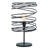 "Metal Table Lamp 21""H, Black"