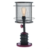 "Metal Table Lamp 21""H, Black, Pink"