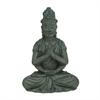 """Polystone Buddha 18""""W, 26""""H, Gray"""