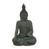 """Polystone Buddha 24""""W, 42""""H, Gray"""