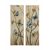 Benzara Colorful And Vibrant Butterflies Themed Canvas Wall Art