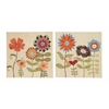 Multicolored Artistic Canvas Art 2 Assorted