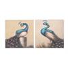 Benzara Enchanting And Adoring Canvas Art 2 Assorted