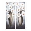 Benzara Wonderful Customary Styled Canvas Art 2 Assorted