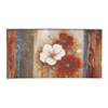 Benzara Astounding Floral Patterned Canvas Art