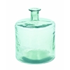 Benzara Beautiful Barrel Shaped Glass Vase In Minimalistic Design