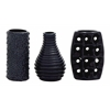 Benzara Stylish And Unique Ceramic Vase 3 Assorted