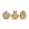 Benzara Glittering Ceramic Vase 3 Assorted