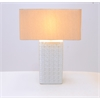 "Chic Ceramic Table Lamp 26""H"