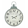 Benzara Antique Metal Round Shaped Wall Clock