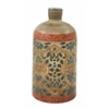 Benzara Exquisite Glass Painted Bottle