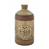 Benzara Supremely Beautiful Glass Painted Bottle
