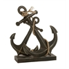 Benzara Spectacular Metal Rope Anchor Table Deco