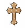 Artistically Designed Metal Lite Wall Cross
