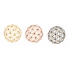 "Metal Sphere 3 Assorted 10""D"