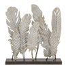 "Benzara Simple Metal Feather Decor 20""W, 21""H"