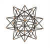 "Benzara Trendy Metal Wire Star Decor 7""W, 7""H"