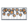 "Startling Metal Flower Wall Decor 42""W, 20""H"