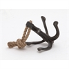 Wonderful Metal Rope Anchor, Black