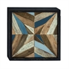 "Wood Wall Plaq 20""W, 20""H, Brown"