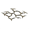"Metal Wall Decor 45""W, 22""H, Gold, Black"