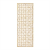 Marvelous Wood Gold / White Wall Panel, Gold and White