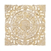Captivating Wall Panel, Golden and White
