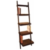 Benzara Wood Leaning Shelf Multi-Purpose Rack