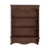 Benzara Wonderful Styled Wood Wall Shelf With Hook