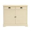 Swanky Wood White Sideboard, White