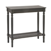 Trendy Wood Console Black Table, Black